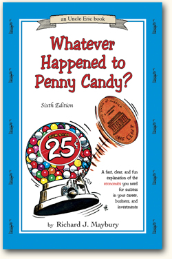 Book Cover Uncle Eric Talks About WWhatever Happened to Penny Candy
