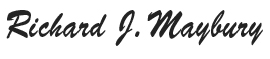 Richard J. Maybury signature